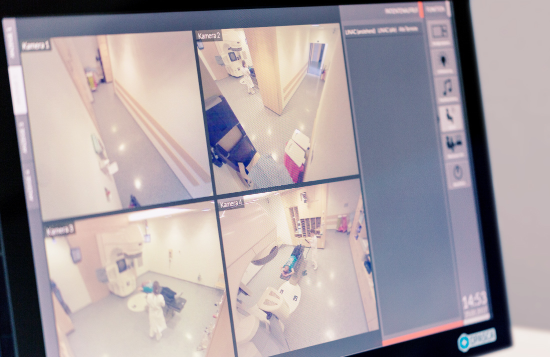 OPASCA Audiovisuelle Überwachung OPASCA audio-visual monitoring Patient Safety Sicherheit