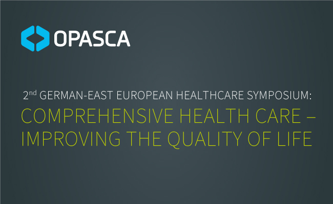 2nd East-European Healthcare Symposium Berlin News OPASCA Sponsoring Radiotherapy Strahlentherapie Zentralasien Central Asia Health Healthcare