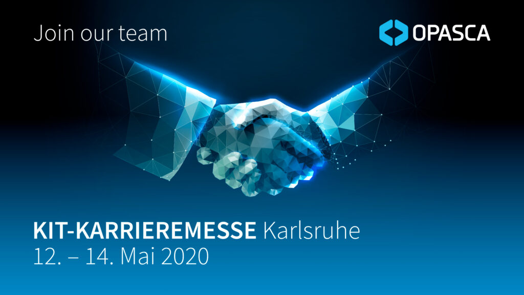 KIT Karierremesse Karlsruhe 2020 OPASCA Career Jobs Events